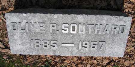 SOUTHARD, OLIVE P. - Union County, Ohio | OLIVE P. SOUTHARD - Ohio Gravestone Photos