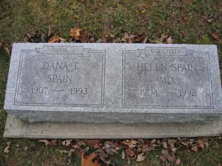 SPAIN, DANA T. - Union County, Ohio | DANA T. SPAIN - Ohio Gravestone Photos
