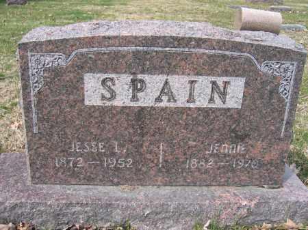 SPAIN, JESSE L. - Union County, Ohio | JESSE L. SPAIN - Ohio Gravestone Photos