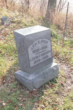 SPAIN, LEVI E. - Union County, Ohio | LEVI E. SPAIN - Ohio Gravestone Photos