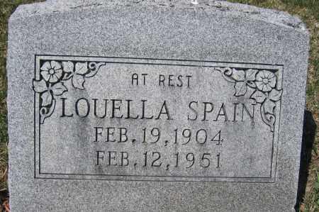 SPAIN, LOUELLA A. - Union County, Ohio   LOUELLA A. SPAIN - Ohio Gravestone Photos