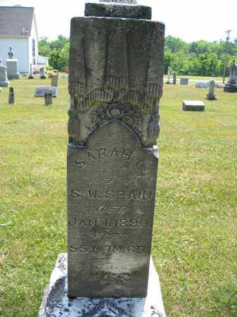 SPAIN, SARAH A. - Union County, Ohio | SARAH A. SPAIN - Ohio Gravestone Photos