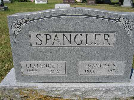 SPANGLER, CLARENCE E. - Union County, Ohio | CLARENCE E. SPANGLER - Ohio Gravestone Photos