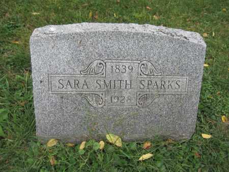 SPARKS, SARA SMITH - Union County, Ohio   SARA SMITH SPARKS - Ohio Gravestone Photos