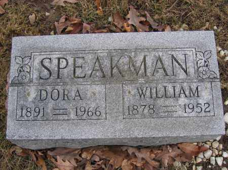 SPEAKMAN, WILLIAM - Union County, Ohio | WILLIAM SPEAKMAN - Ohio Gravestone Photos