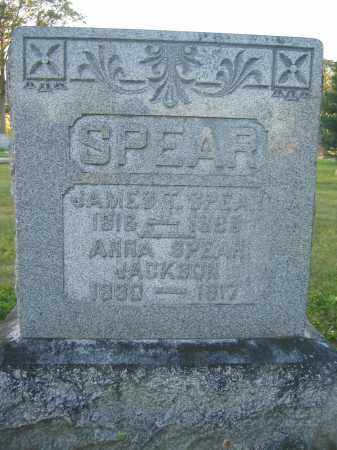 JACKSON, ANNA SPEAR - Union County, Ohio | ANNA SPEAR JACKSON - Ohio Gravestone Photos