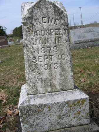 GOODSPEED, IRENE - Union County, Ohio | IRENE GOODSPEED - Ohio Gravestone Photos