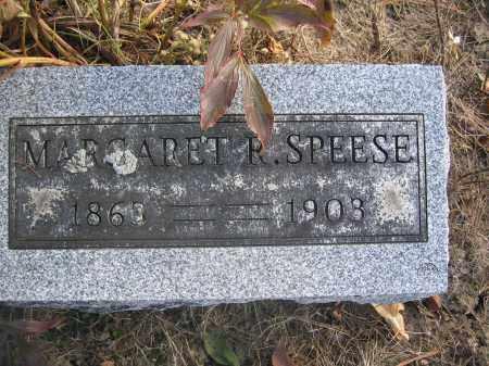 SPEESE, MARGARET R. - Union County, Ohio   MARGARET R. SPEESE - Ohio Gravestone Photos