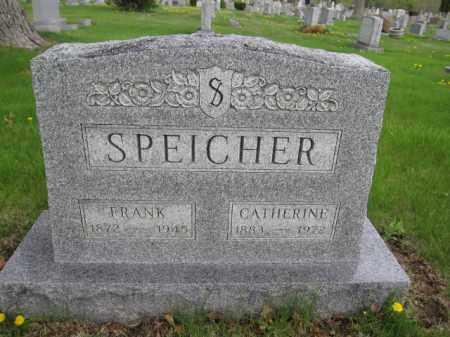 SPEICHER, FRANK - Union County, Ohio | FRANK SPEICHER - Ohio Gravestone Photos