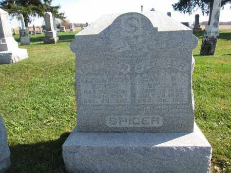 SPICER, KEZIAH ROSS - Union County, Ohio | KEZIAH ROSS SPICER - Ohio Gravestone Photos