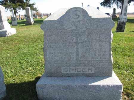 SPICER, DAVID - Union County, Ohio | DAVID SPICER - Ohio Gravestone Photos
