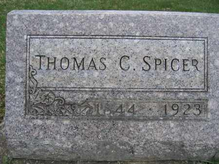 SPICER, THOMAS C - Union County, Ohio | THOMAS C SPICER - Ohio Gravestone Photos