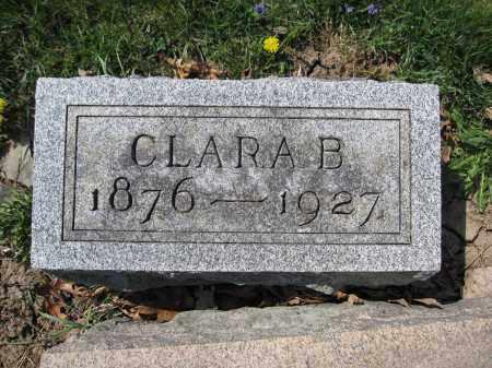 SPRAGG, CLARA B. - Union County, Ohio | CLARA B. SPRAGG - Ohio Gravestone Photos