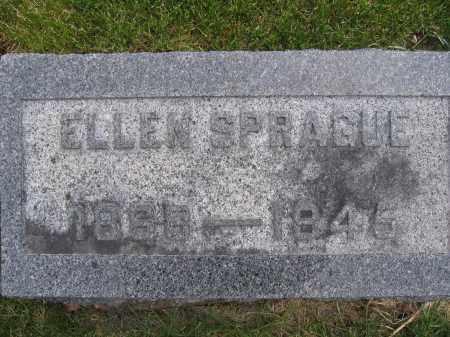 SPRAGUE, ELLEN - Union County, Ohio | ELLEN SPRAGUE - Ohio Gravestone Photos