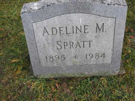 SPRATT, ADELINE M. - Union County, Ohio | ADELINE M. SPRATT - Ohio Gravestone Photos