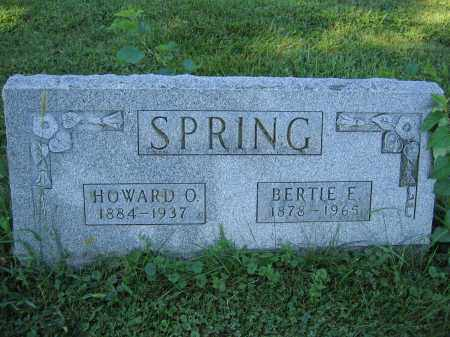 SPRING, HOWARD O. - Union County, Ohio | HOWARD O. SPRING - Ohio Gravestone Photos