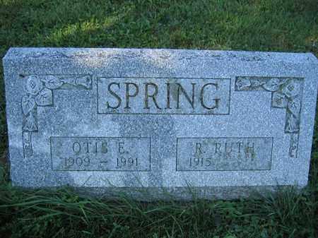 SPRING, OTIS E. - Union County, Ohio   OTIS E. SPRING - Ohio Gravestone Photos