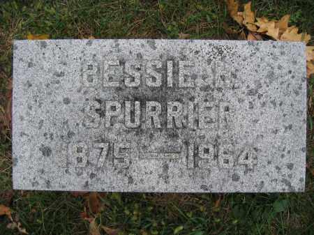 SPURRIER, BESSIE H. - Union County, Ohio | BESSIE H. SPURRIER - Ohio Gravestone Photos