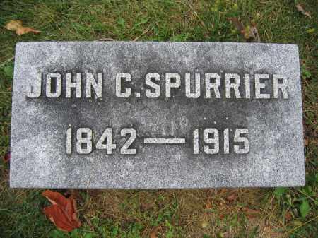 SPURRIER, JOHN C. - Union County, Ohio   JOHN C. SPURRIER - Ohio Gravestone Photos
