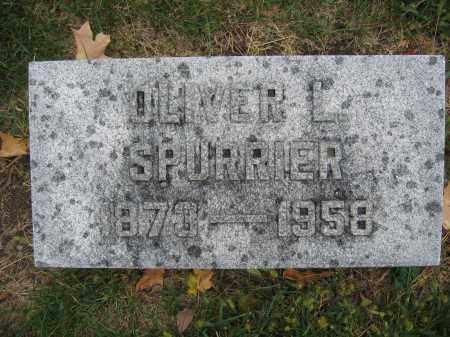 SPURRIER, OLIVER L. - Union County, Ohio | OLIVER L. SPURRIER - Ohio Gravestone Photos