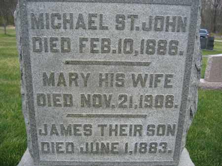 ST. JOHN, JAMES - Union County, Ohio | JAMES ST. JOHN - Ohio Gravestone Photos
