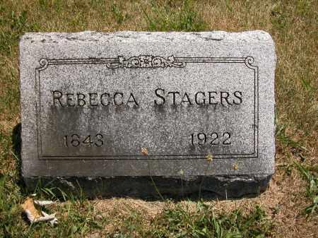 STAGERS, REBECCA - Union County, Ohio   REBECCA STAGERS - Ohio Gravestone Photos