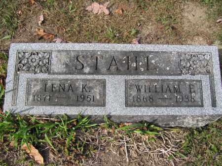 STAHL, LENA K. - Union County, Ohio   LENA K. STAHL - Ohio Gravestone Photos