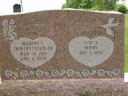STAHLER, MAXINE J. - Union County, Ohio | MAXINE J. STAHLER - Ohio Gravestone Photos