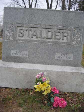 STALDER, LENA - Union County, Ohio | LENA STALDER - Ohio Gravestone Photos
