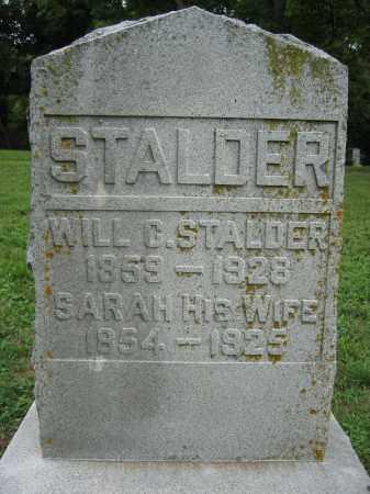 STALDER, WILL C. - Union County, Ohio   WILL C. STALDER - Ohio Gravestone Photos