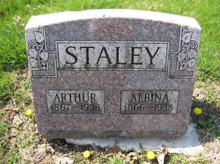 STALEY, ALBINA GROW - Union County, Ohio | ALBINA GROW STALEY - Ohio Gravestone Photos