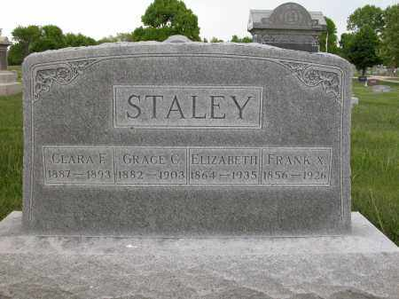 STALEY, FRANK X. - Union County, Ohio | FRANK X. STALEY - Ohio Gravestone Photos