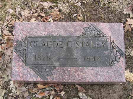 STALEY, CLAUDE C. - Union County, Ohio | CLAUDE C. STALEY - Ohio Gravestone Photos
