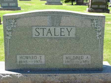 STALEY, MILDRED A. - Union County, Ohio | MILDRED A. STALEY - Ohio Gravestone Photos