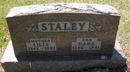 STALEY, LILLY - Union County, Ohio | LILLY STALEY - Ohio Gravestone Photos