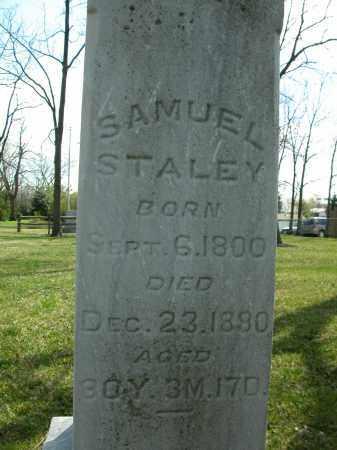 STALEY, SAMUEL - Union County, Ohio | SAMUEL STALEY - Ohio Gravestone Photos