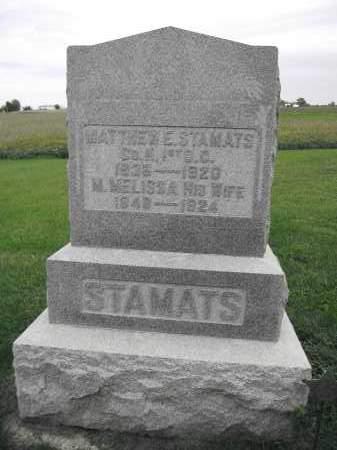 STAMATS, M. MELISSA PRICE - Union County, Ohio | M. MELISSA PRICE STAMATS - Ohio Gravestone Photos