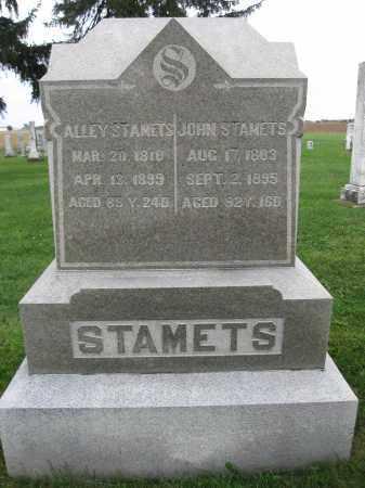STAMETS, JOHN GEORGE - Union County, Ohio | JOHN GEORGE STAMETS - Ohio Gravestone Photos