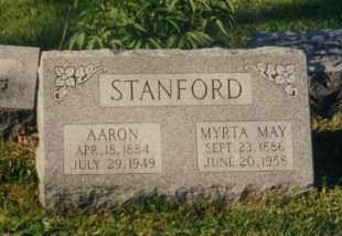 STANFORD, AARON - Union County, Ohio | AARON STANFORD - Ohio Gravestone Photos