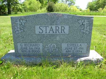 STARR, ESTELLA - Union County, Ohio | ESTELLA STARR - Ohio Gravestone Photos