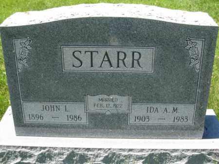 STARR, JOHN L. - Union County, Ohio | JOHN L. STARR - Ohio Gravestone Photos