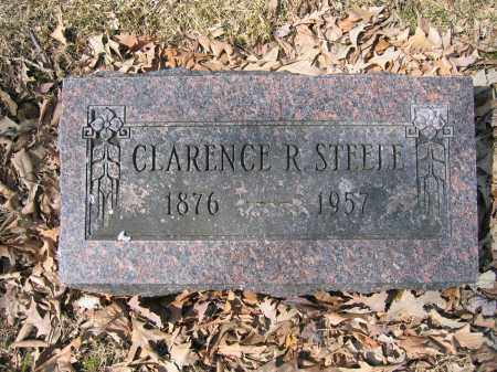 STEELE, CLARENCE R. - Union County, Ohio | CLARENCE R. STEELE - Ohio Gravestone Photos