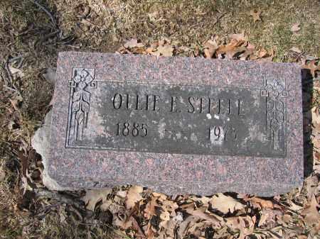 STEELE, OLLIE E. - Union County, Ohio | OLLIE E. STEELE - Ohio Gravestone Photos