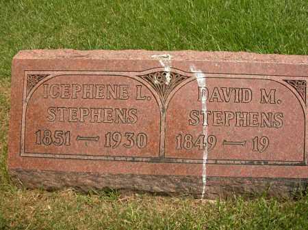 STEPHENS, ICEPHENE L. - Union County, Ohio | ICEPHENE L. STEPHENS - Ohio Gravestone Photos