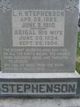 STEPHENSON, L.H. - Union County, Ohio | L.H. STEPHENSON - Ohio Gravestone Photos