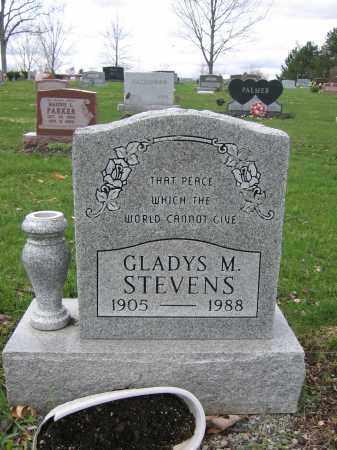 STEVENS, GLADYS M. - Union County, Ohio | GLADYS M. STEVENS - Ohio Gravestone Photos