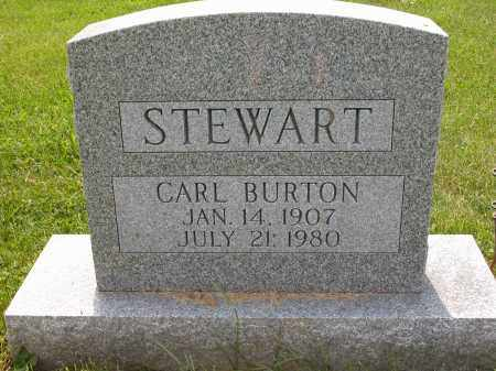 STEWART, CARL BURTON - Union County, Ohio | CARL BURTON STEWART - Ohio Gravestone Photos