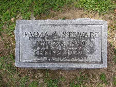 STEWART, EMMA A. - Union County, Ohio   EMMA A. STEWART - Ohio Gravestone Photos