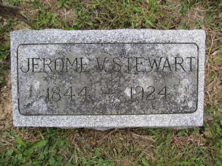 STEWART, JEROME V. - Union County, Ohio   JEROME V. STEWART - Ohio Gravestone Photos