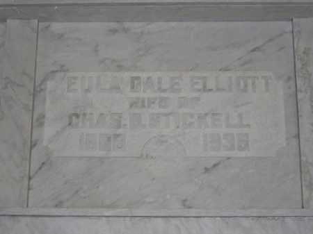 STICKELL, EULA DALE ELLIOTT - Union County, Ohio   EULA DALE ELLIOTT STICKELL - Ohio Gravestone Photos